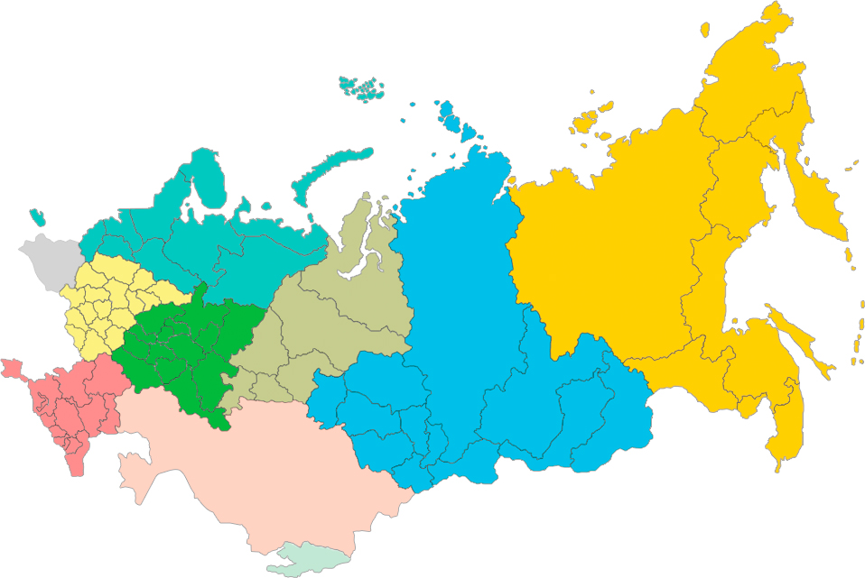 Карта представителей продаж